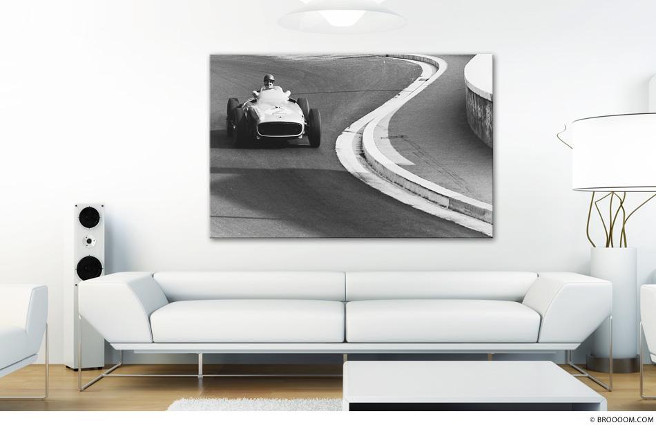 Fangio, Grand Prix in Monaco 1955
