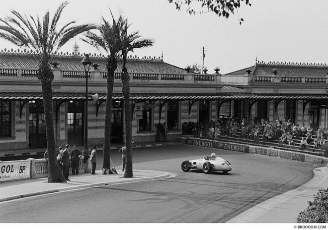 Stirling Moss, Monaco 1955 - II