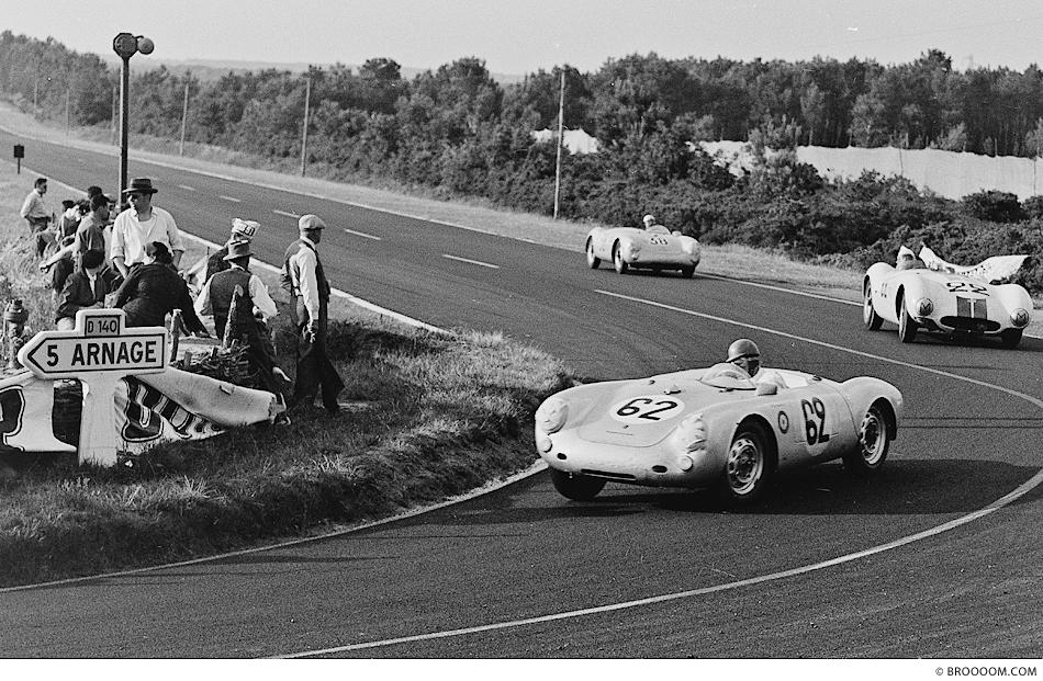 Helm Glöckler, Le Mans 1955