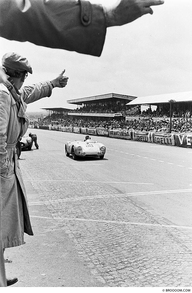 Daumen hoch für Porsche in Le Mans